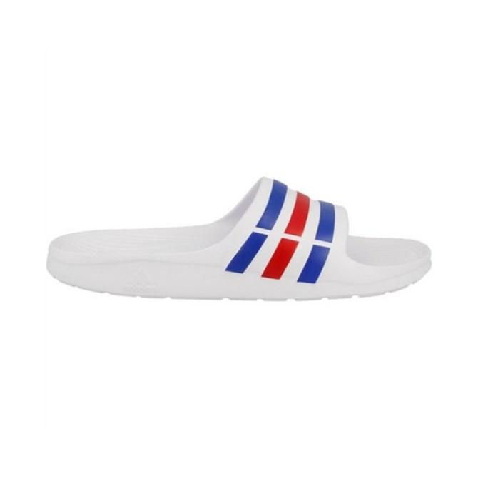 Natikače Adidas Duramo Slide White Blue ecd9cb5664