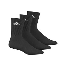 Čarape Adidas 3-stripes Black