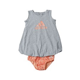Haljinica Adidas Summer Dress Grey Baby
