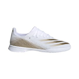 Tenisice Adidas X Ghosted.3 Indoor White/Gold