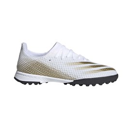 Tenisice Adidas X Ghosted.3 TF White/Gold
