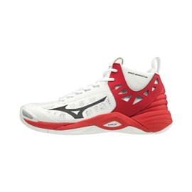Tenisice Mizuno Wave Momentum Mid White/Red