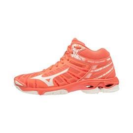 Tenisice Mizuno Wave Voltage Mid Orange/White