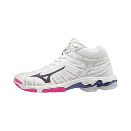 Tenisice Mizuno Wave Voltage White/Pink/Blue