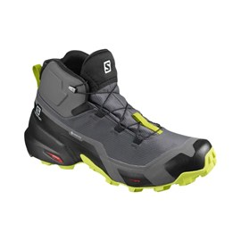 Tenisice Salomon Cross Hide Mid GTX Grey/Lime