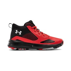 Tenisice Under Armour GS Lockdown 5 Red/Black