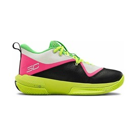 Tenisice Under Armour SC 3ZER0 IV White/Green/Pink